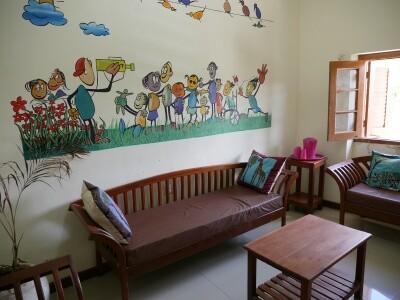 Ein Behandlungszimmer im One Stop Centre Sansibar